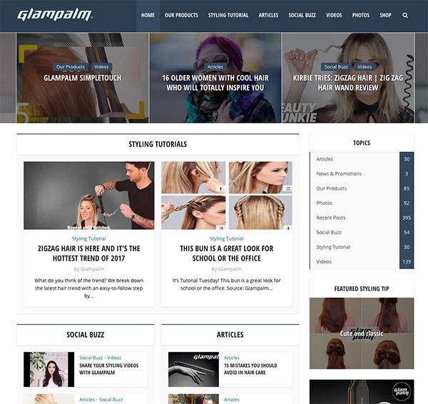 blog marketing for glampalm
